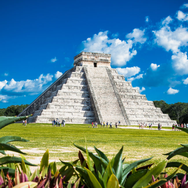 Visit of archaeological site of Chichen Itza