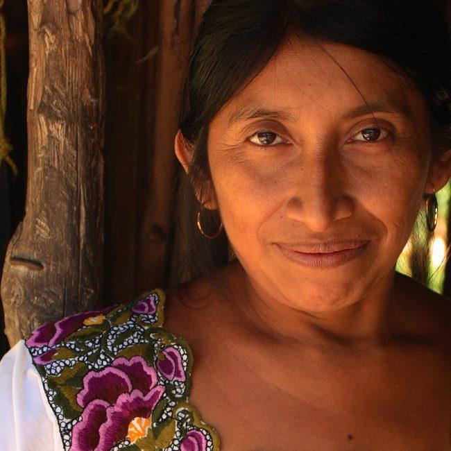 Convivir con una familia maya