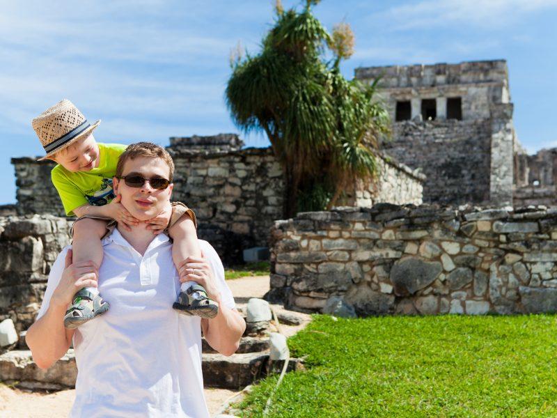 Viaje a México en familia