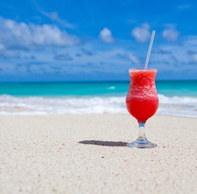 Repas sur la plage de l'ile Contoy