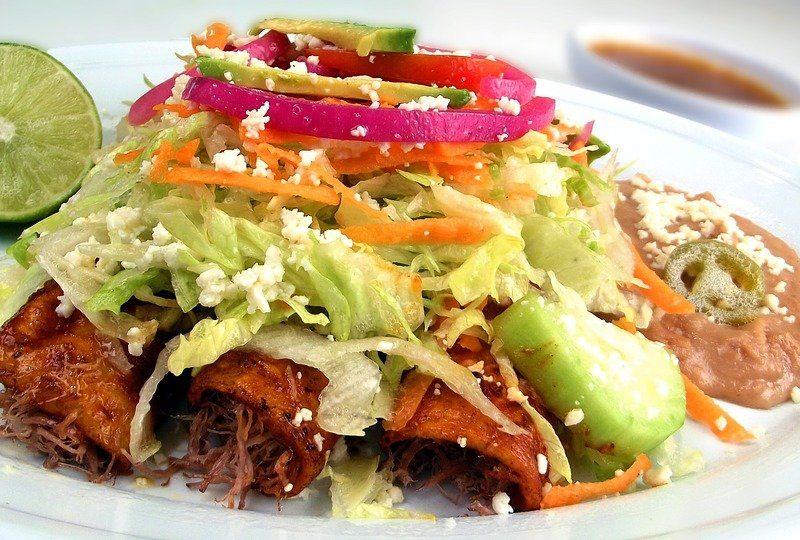 Recette : Enchiladas