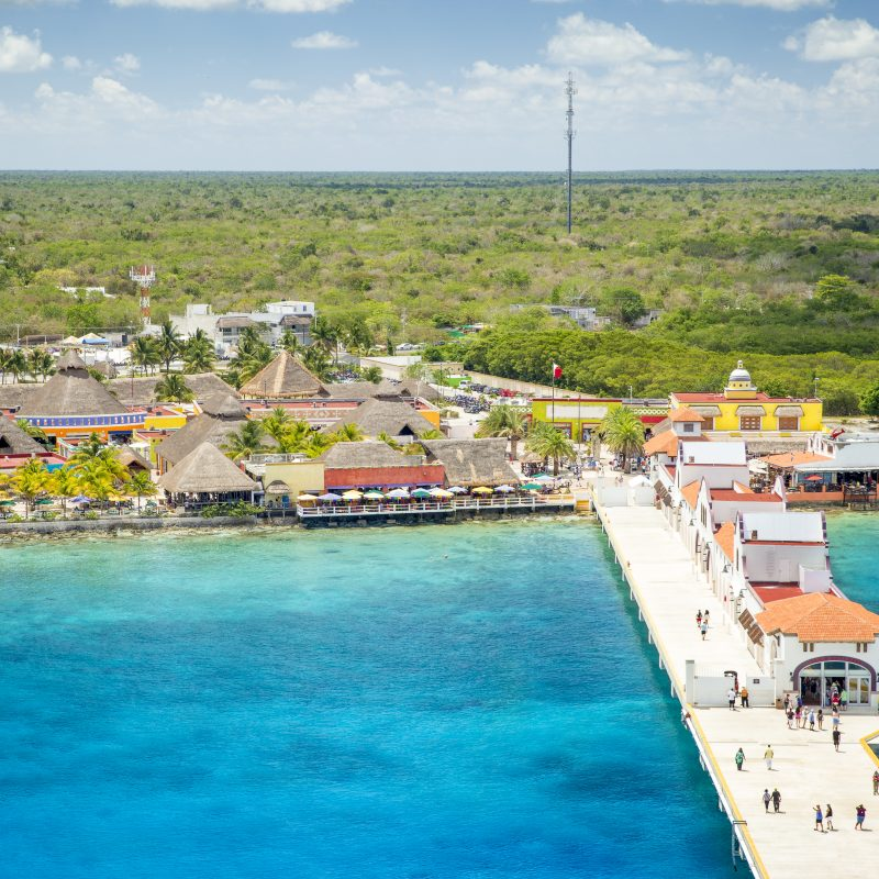 Embarcation à Cozumel